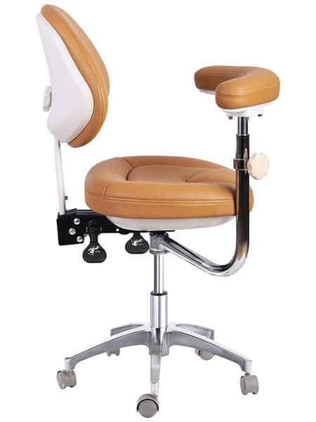 Dental Assistant Stool with Armrest