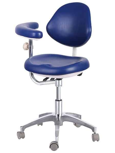 Dental Assistant Stool with Rotating Armrest - TRONWIND