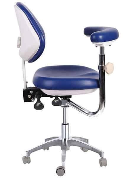 Assistant Chair with Adjustable Armrest and Back