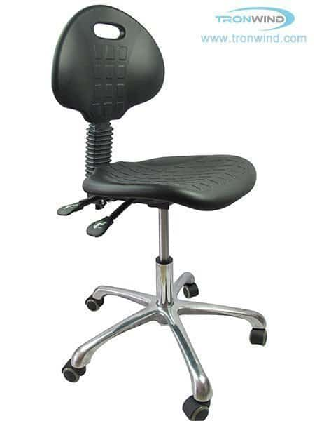 ESD Stools with Backrest, Adjustable Lab Chairs with Back Wholesale - TRONWIND