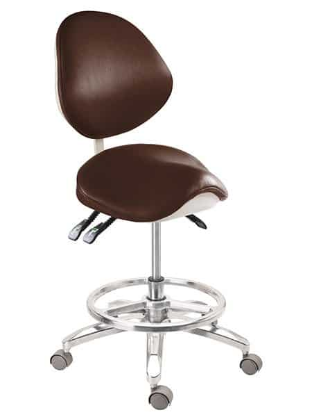 Tronwind Saddle Chair TS05 Dental Stool Ergonomic Chair  sc 1 st  Tronwind Medical Chairs & CE Approved Dentist Stool with Footring | Tronwind Medical Chair ... islam-shia.org