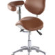 Ergonomic Saddle Stool with Swing Armrest for Dentistry | TRONWIND
