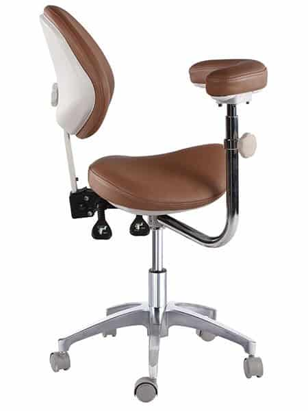 Ergonomic Saddle Stool For Dental Clinic Office
