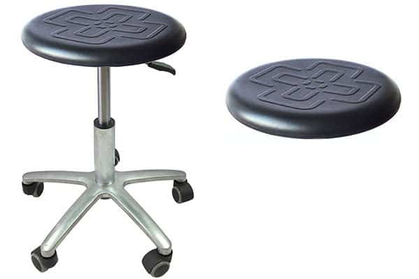 Purchase the Poly Industrial Work Stools with Wheels - TRONWIND