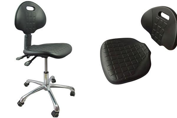 ESD Stools with Backrest, Lab Chairs , Anti-static Chair Wholesale