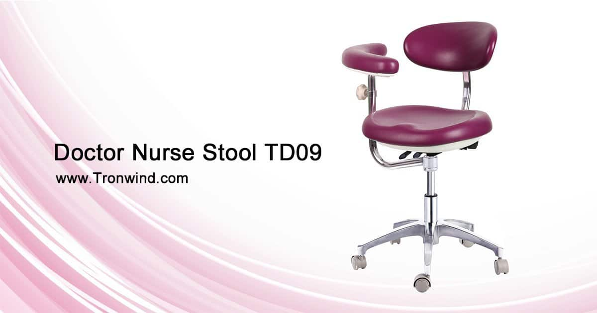 Ergonomic Dental Stool With Armrest For Sale Tronwind