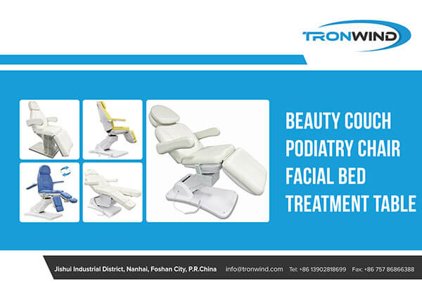 Treatment Chairs Beds Catalogue Cover Page-TRONWIND