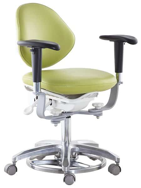 Surgeon Stool, Microscope Chair with Foot-control & Armrest