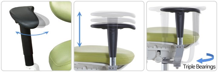 Tronwind-Microscope-Chair-TM03-Armrest-Adjustment