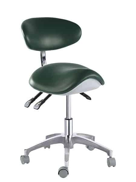Ergonomic Saddle Chair Saddle Seat with Backrest Supplier