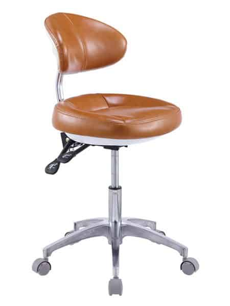 Doctor Stool with Backrest, Hospital Stool, Clinical Stool - TRONWIND