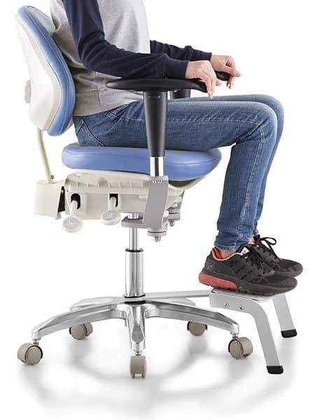 Tronwind Microscope Chair Footrest-Pedal-demonstration-TM08
