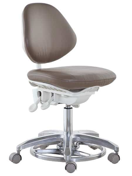 Microscope Chair Dentist Stool with Foot Pedal Height Adjustment TM04-1