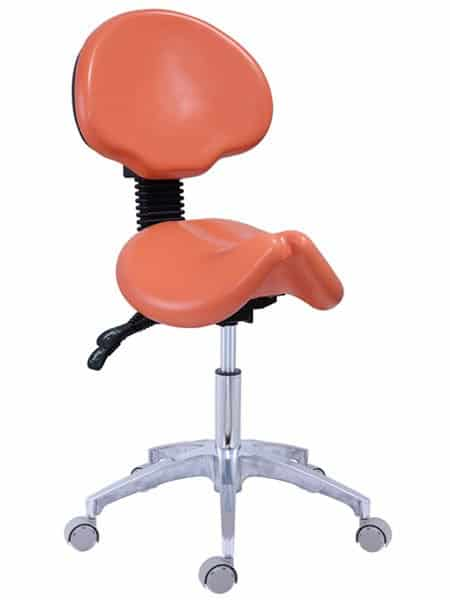 New Saddle Stool with Backrest, Ergonomic Stool Sale | TRONWIND