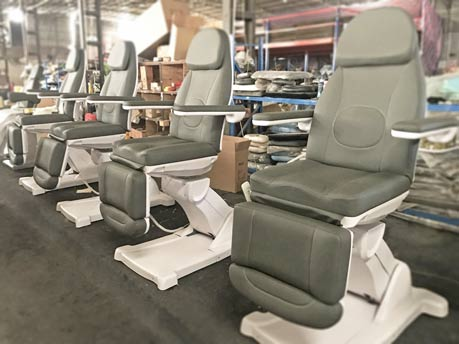 Workshop of Beauty Treatment Chairs-TRONWIND