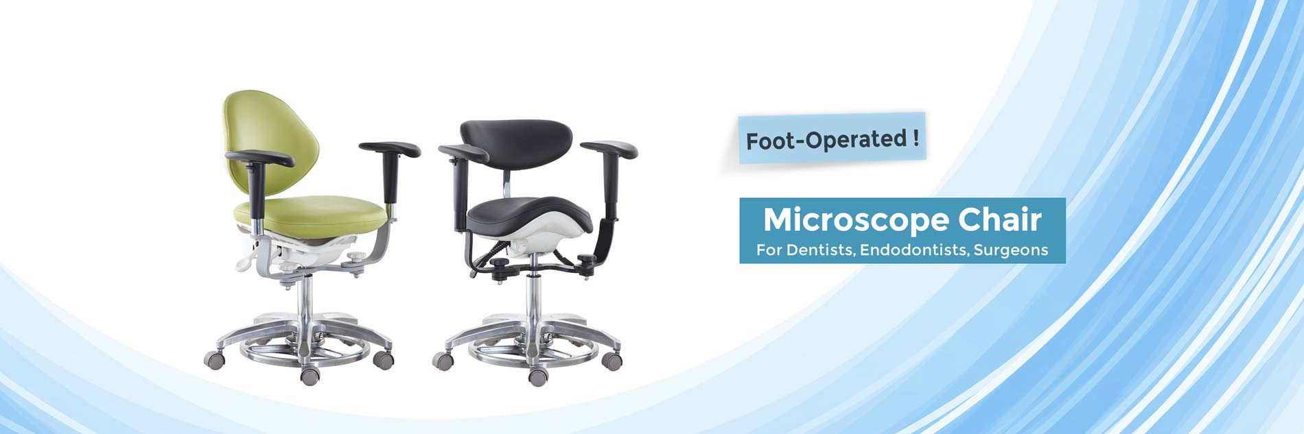 Microscope Chairs, Surgeon Stool with Armrest-TRONWIND MEDICAL CHAIRS