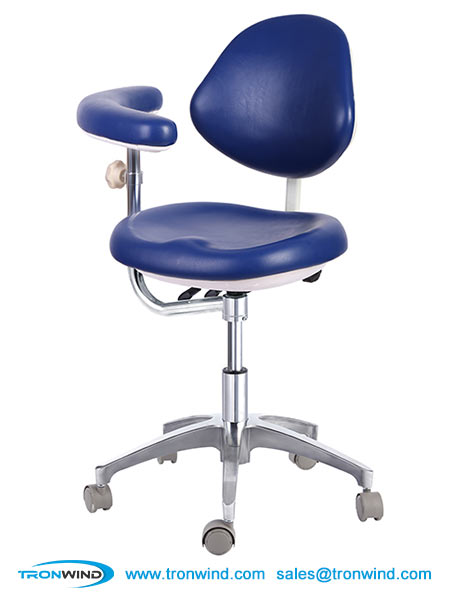 Ergonomic Dental Stool and Chair with Armrest