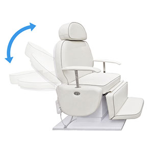 Backrest Adjustment-Treatment Chair Spa Salon Chair Couch-TRONWIND