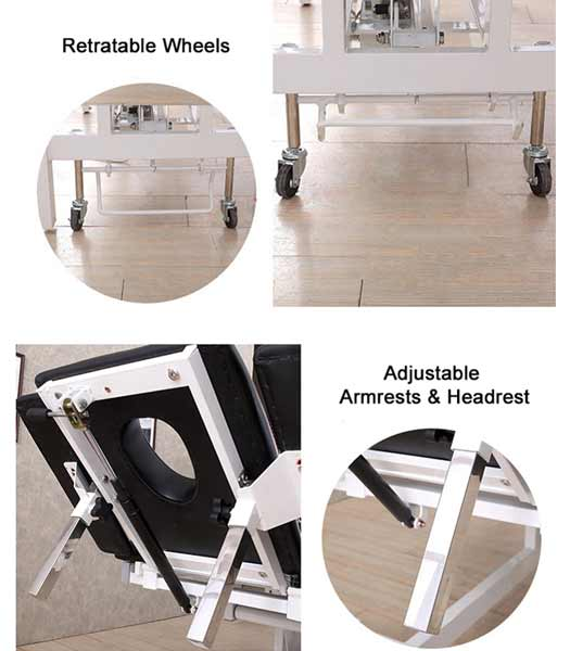 Electric Physiotherapy Examination Couch Wholesale-TRONWIND