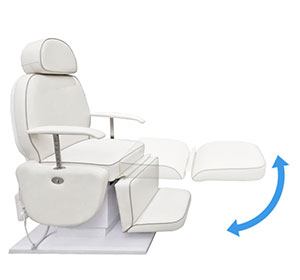 Legrest Adjustment-Hair Implant Chair-TRONWIND