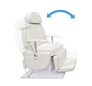 Tilt Adjustment-Hair Transplant Chair Beauty Salon Chair-TRONWIND