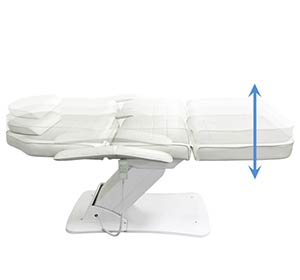 Height Adjustment-Electric Facial Bed Beauty Chair TEP07-Tronwind Medical Chairs