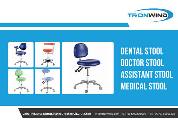 Medical Stools Dental Stools Catalogue Cover Page-TRONWIND