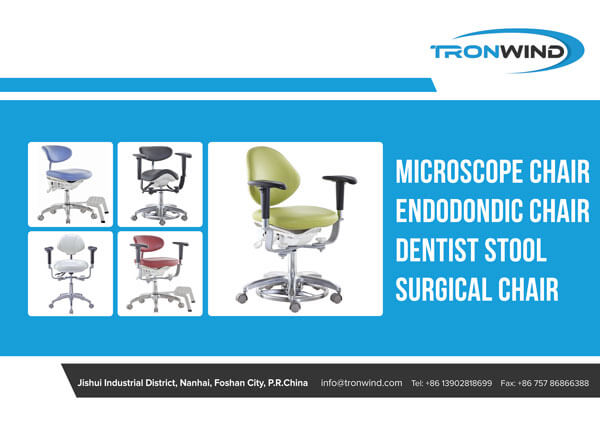 Microscope Chairs Catalogue Cover Page-TRONWIND