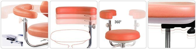4 Adjustments of the Dental Assistant Stool